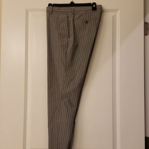Banana Republic slim fit striped slacks